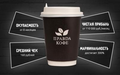 правда кофе франшиза открыть